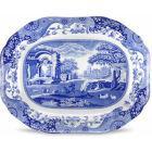 Buy Spode Blue Italian Oval Platter 41cm at Louis Potts
