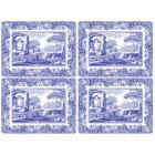 Buy Spode Blue Italian Rectangular Placemats Set of 4  at Louis Potts