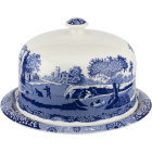 Buy Spode Blue Italian Serving Platter With Dome at Louis Potts