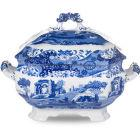 Buy Spode Blue Italian Soup Tureen 3.4L at Louis Potts