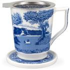 Buy Spode Blue Italian Tisaniere at Louis Potts