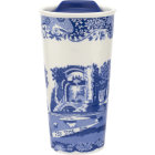 Buy Spode Blue Italian Travel Mug 0.35L at Louis Potts
