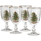Buy Spode Christmas Tree Goblet Set of 4 at Louis Potts