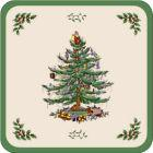 Buy Spode Christmas Tree Square Coasters 10cm Set of 6 at Louis Potts