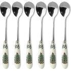 Buy Spode Christmas Tree Tea Spoons 15cm Set of 6 at Louis Potts