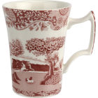 Buy Spode Cranberry Italian Mug 0.28l at Louis Potts