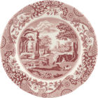 Buy Spode Cranberry Italian Plate 20cm at Louis Potts