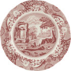Buy Spode Cranberry Italian Plate 27cm at Louis Potts