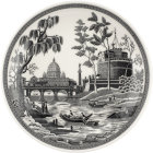 Buy Spode Heritage Collection Pasta Bowl 23cm Rome at Louis Potts