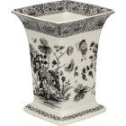 Buy Spode Heritage Collection Square Vase 22.5cm India at Louis Potts