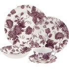 Buy Spode Kingsley 5 Piece Set White at Louis Potts