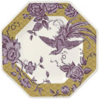 Buy Spode Kingsley Octagonal Plate 24cm Ochre at Louis Potts
