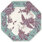 Buy Spode Kingsley Octagonal Plate 24cm Teal at Louis Potts