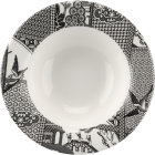 Buy Spode Patchwork Willow Cereal Bowl 19cm Mono at Louis Potts