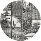 Buy Spode Patchwork Willow Plate 22cm Mono at Louis Potts