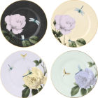 Buy Ted Baker The Fine Collection Salad Plate Multi Set of 4 Rosie Lee at Louis Potts