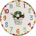 Buy The Very Hungry Caterpillar The Very Hungry Caterpillar Wall Clock at Louis Potts