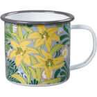 Buy Wild and Wolf Mugs Enamel Mug V&A Bower at Louis Potts