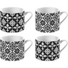 Buy Victoria and Albert Museum Mug Collection Espresso Mug Encaustic Tiles Set of 4 at Louis Potts