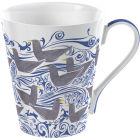 Buy Victoria and Albert Museum Mug Collection Giftboxed Mug Seagulls Blue at Louis Potts