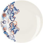 Buy Victoria and Albert Museum Rococo Silk Dinner Plate Set of 4 at Louis Potts