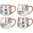Buy Victoria and Albert Museum Rococo Silk Mug Set of 4 at Louis Potts