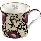 Buy Victoria and Albert Museum William Morris & Co Giftboxed Mug Anemone Black Set of 2 at Louis Potts