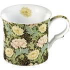 Buy Victoria and Albert Museum William Morris & Co Giftboxed Mug Chrysanthemum Set of 2 at Louis Potts