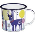 Buy Wild and Wolf Folklore Mug White Night & Day at Louis Potts