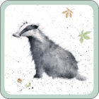 Buy Wrendale Wrendale Coaster Wrendale Badger at Louis Potts