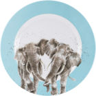 Buy Wrendale Wrendale Melamine Dinner Plate 28cm Elephants at Louis Potts