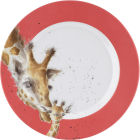 Buy Wrendale Giftware Melamine Side Plate 20cm Giraffe at Louis Potts