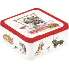 Buy Wrendale Tinware Square Tin Santa's Little Helper at Louis Potts