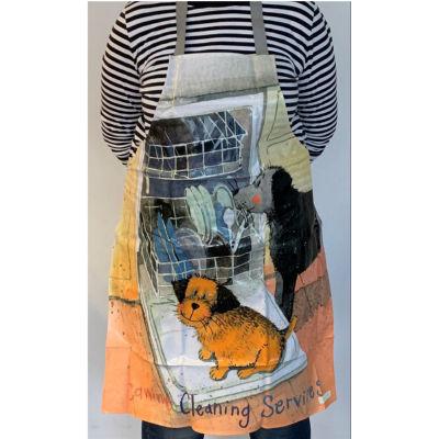 Alex Clark Aprons Apron PVC Canine Cleaning Services