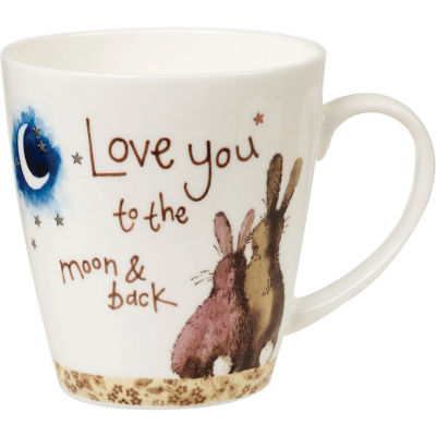 Alex Clark Mugs Mug Cherry Love You To The Moon & Back