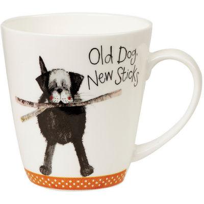 Alex Clark Mugs Mug Cherry Old Dog New Sticks