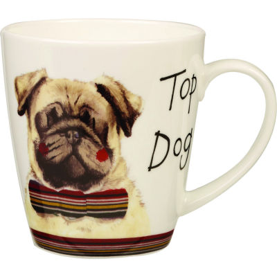 Alex Clark Mugs Mug Cherry Top Dog