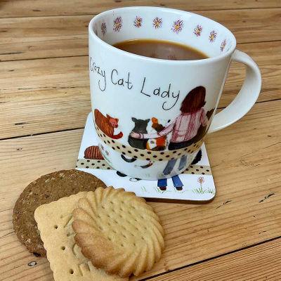 Alex Clark Mugs Mug Crazy Cat Lady