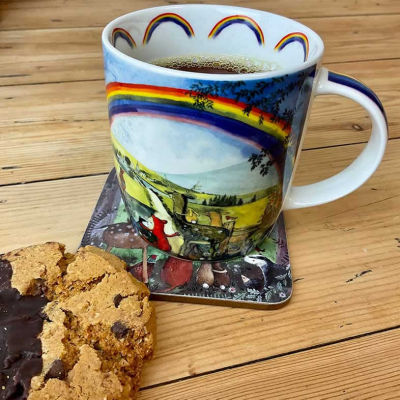 Alex Clark Mugs Mug Looking For Rainbows