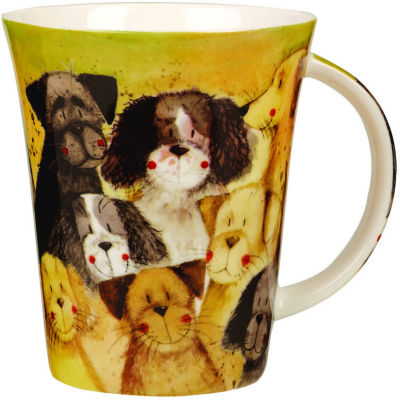 Alex Clark Mugs Mug Pack Of Dogs