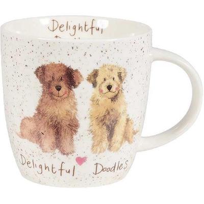 Alex Clark Mugs Mug Tub Delightful Doodles