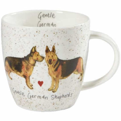 Alex Clark Mugs Mug Tub Gentle German Shepherds