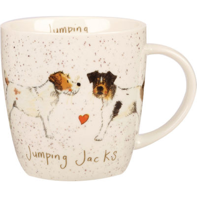 Alex Clark Mugs Mug Tub Jumping Jacks