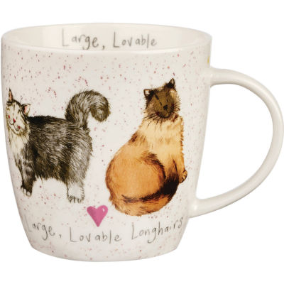 Alex Clark Mugs Mug Tub Loveable Longhairs