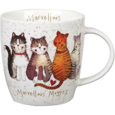 Alex Clark Mugs Mug Tub Marvellous Moggies