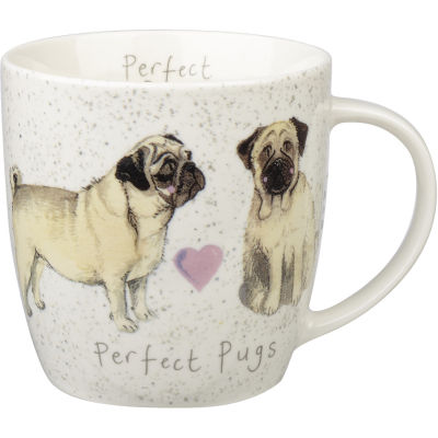 Alex Clark Mugs Mug Tub Perfect Pugs