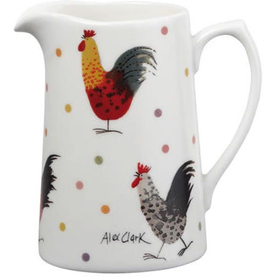 Alex Clark Rooster Collection 0.5 Pint Jug