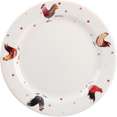 Alex Clark Rooster Collection Dinner Plate