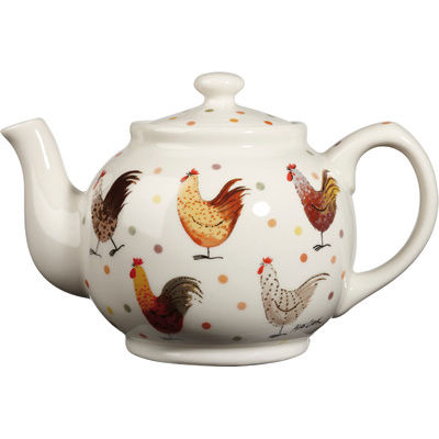 Alex Clark Rooster Collection Teapot