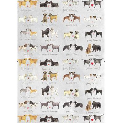 Alex Clark Tea Towels Tea Towel Delightful Dogs